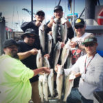Striped Bass Group Fishing Charters on San Francisco Bay