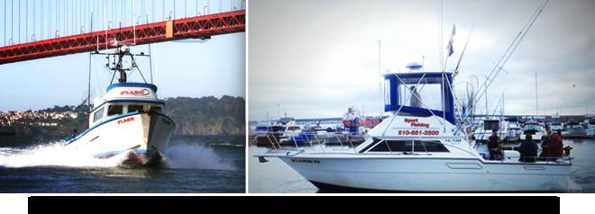 Flash Fishing's Charter Boats San Francisco