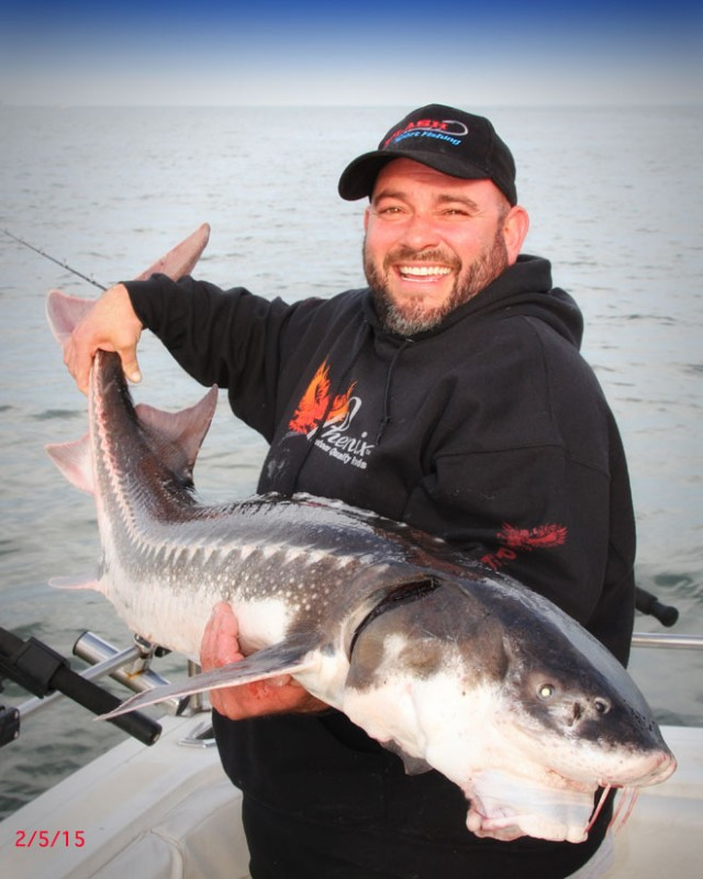 San Francisco Bay Sturgeon Fishing Trip