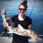 Deep Sea Leopard Shark Fishing in San Francisco
