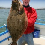 California Halibut Caught on San Francisco Bay
