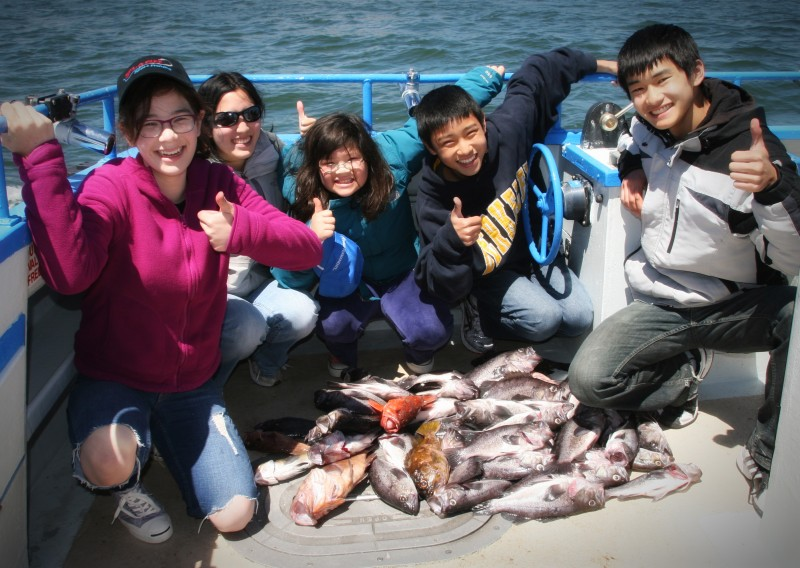 Guided Group Fishing Charters on San Francisco Bay