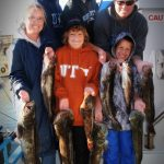 Group Lingcod Fishing Trip on San Francisco Bay