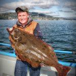 Trophy California Halibut Fishing on San Francisco Bay