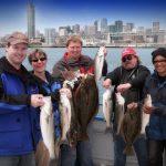 Group Sea Bass Fishing Charter in San Francisco