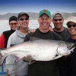 Guided Kind Salmon Fishing Charter San Francisco
