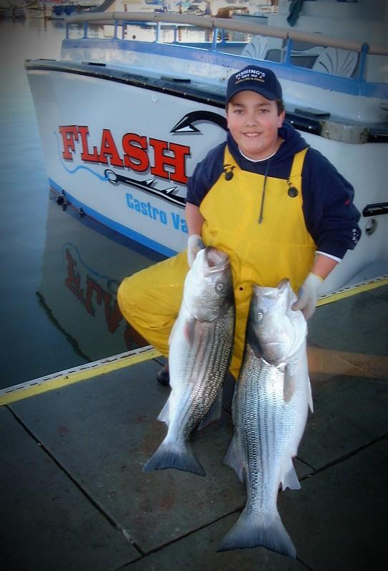 San Francisco Striped Bass Fishing