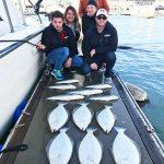 Halibut & Bass Caught on San Francisco Bay